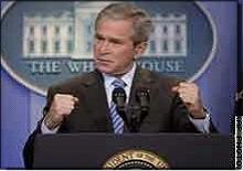 بوش في السعودية بعد غد في مواجهة شعبية لاطلاق معتقلي جواتينامو والسعودية تفرج  عن معتقل في بريدة