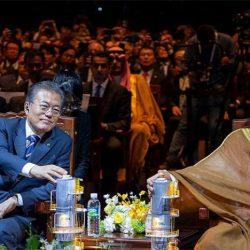 ولي العهد للرئيس الكوري: لدينا تجربة مشتركة رائعة نريد تكرارها