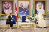 رئيسة الحكومة التونسية ووزير الخارجية الليبية تصلان الرياض ورئيس الحكومة المغربية