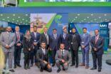 جناح الشركة السعودية للصناعات العسكرية في معرض باريس الجوي يستقبل عددًا من الزوار