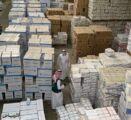 ضبط 22 مليون كمام مخزّن خلال الفترة الماضية