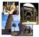 ابادة نفائس حضارة وادي الرافدين بالسرقة والتدمير -كيف نقلت الاثار الي امريكا وسربت الي اسرائيل -سلام على ارض العراق في الخلود والوجود