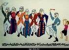 2000  فتاة وشاب فلسطيني يرقصون حى الصباح في رام الله  مع المغني الفرنسي الجزائري الشاب فضيل