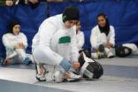 15 متطوعة و30 لاعبة في بطولة المبارزة النسائية