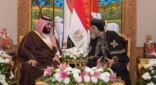 ولي العهد محمد بن سلمان يزور الازهر والكنسية في مصر