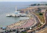 إزاحة وهدم أماكن حاجبة للبحر في جدة